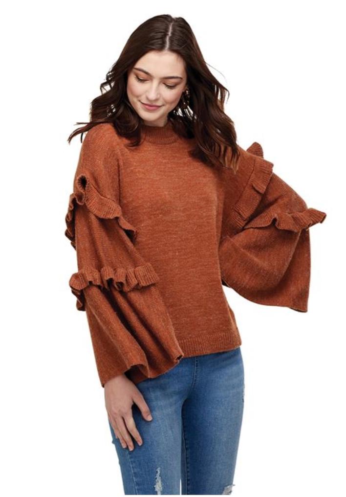 Ramsey Ruffle Sweater