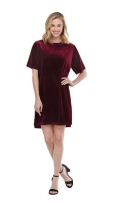 Bennett Velvet Dress