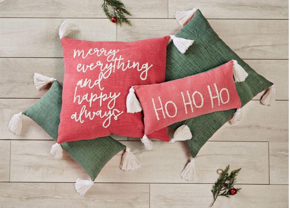 Jolly Tassel Pillows