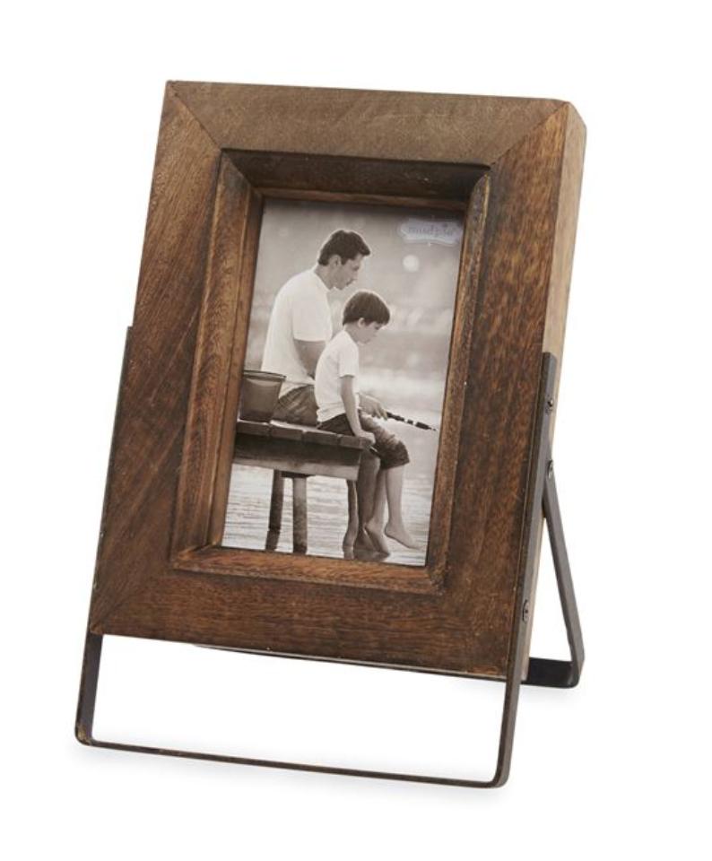 Distressed Wood Easel Frame