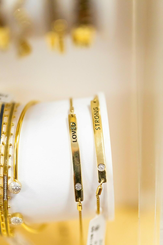 I Am Strong Bracelet