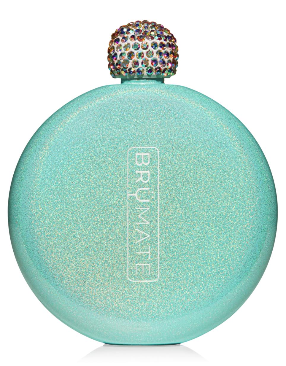Glitter Flask Glitter Peacock