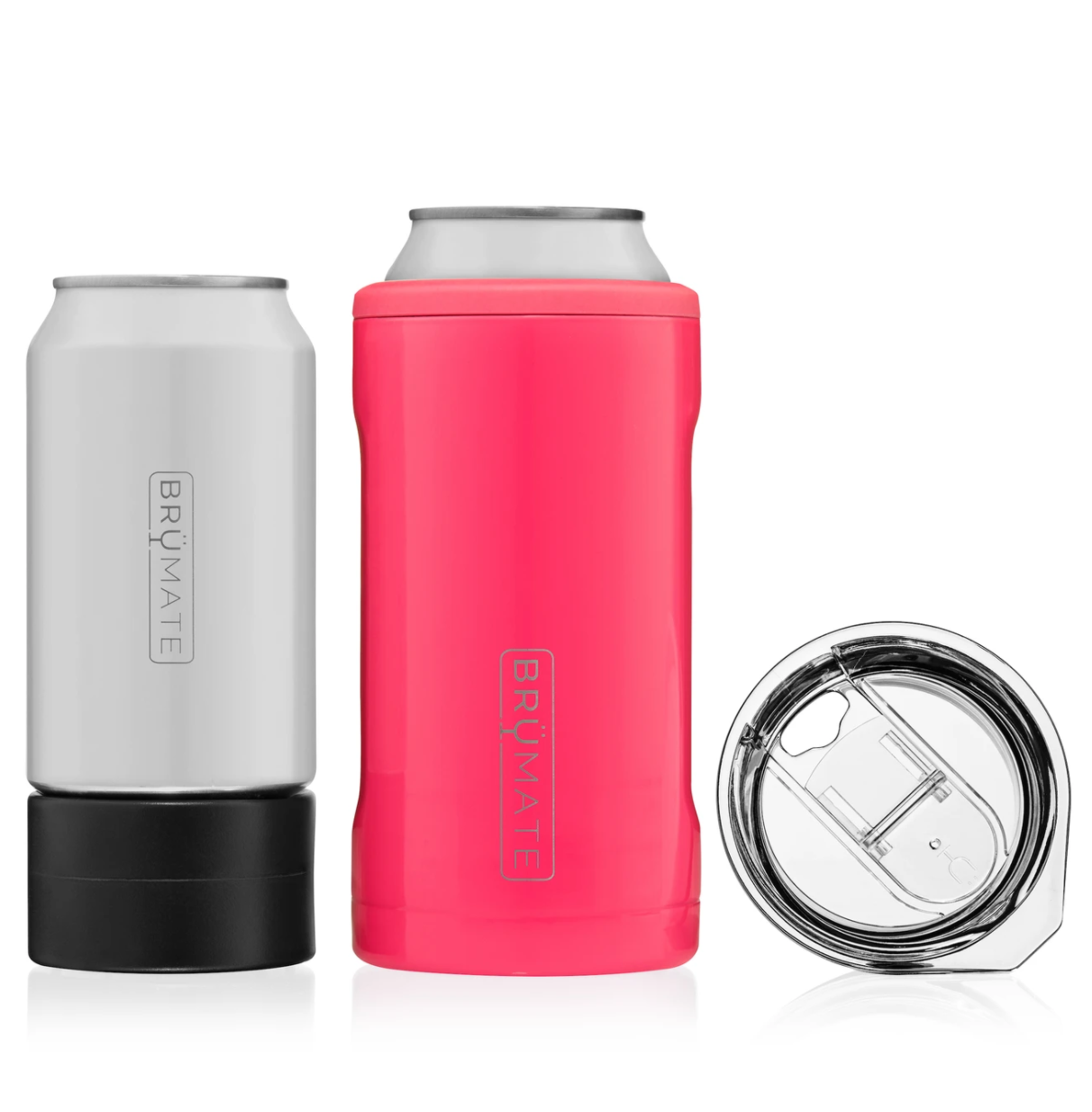 Hopsulator TRiO 3-in-1 can-cooler | Neon Pink