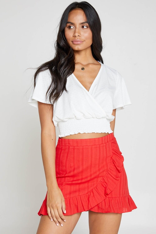 Slow Burn Mini Skirt