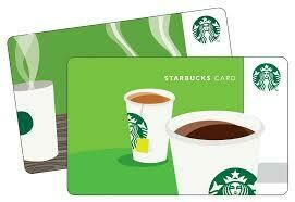 Starbucks $15 Gift Card (Email/SMS Delivery)