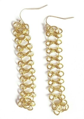 Chain earrings