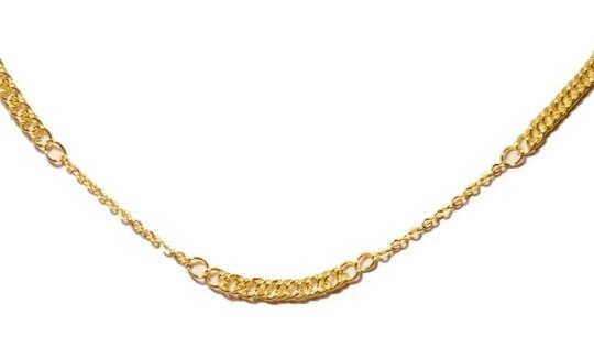 Figaro style necklace