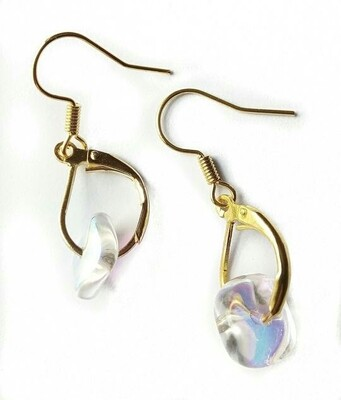 Translucent earrings