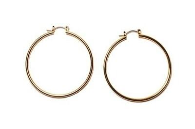 14k hoops