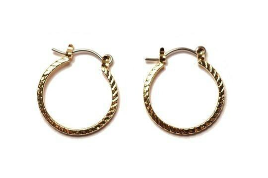 14k small hoops