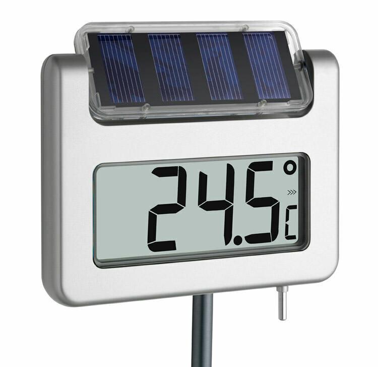 Solar-Gartenthermometer AVENUE