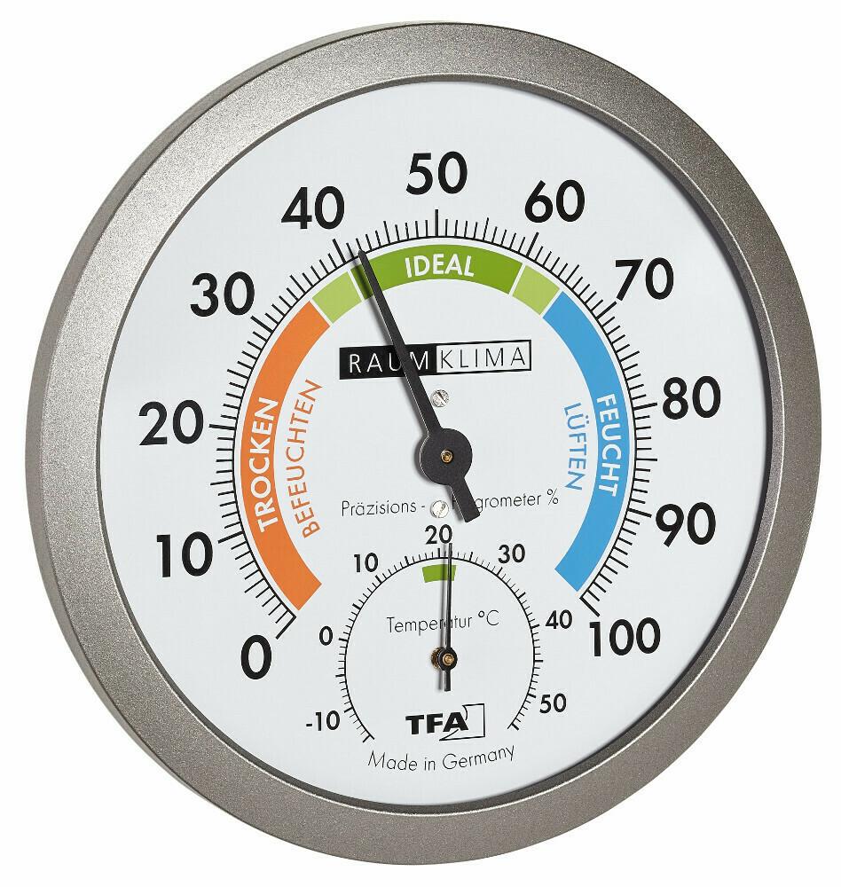 Thermo-Hygrometer Raumklimaüberwachung