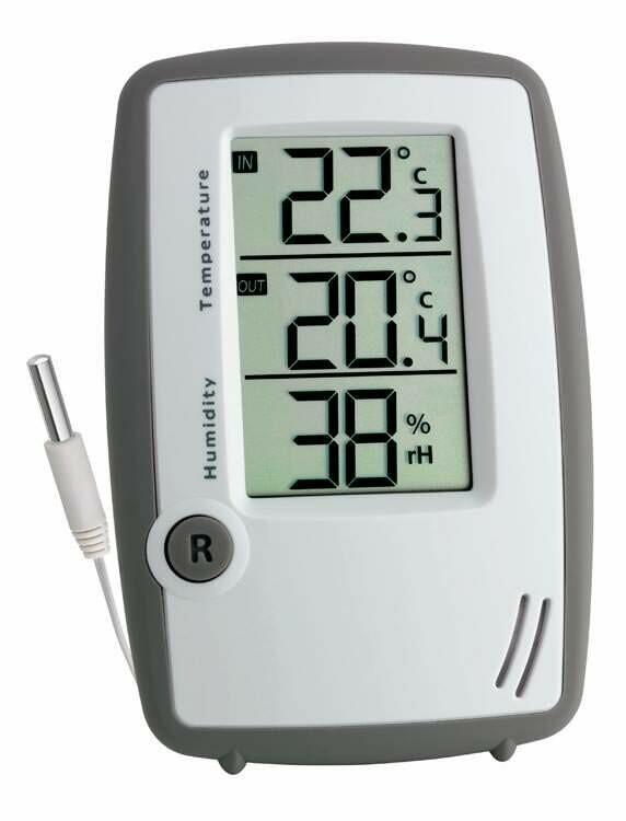 Digitales Thermo-Hygrometer mit Kabelfühler ROOM CONTROL PLUS