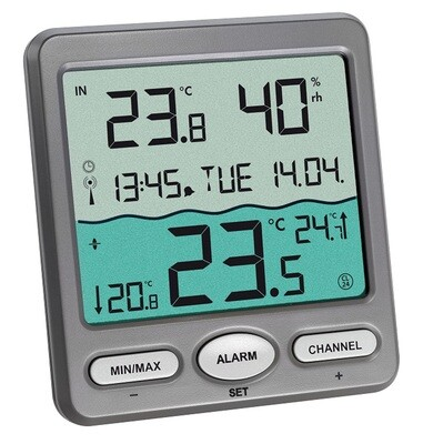 Funk-Poolthermometer Venice Schwimmbadthermometer