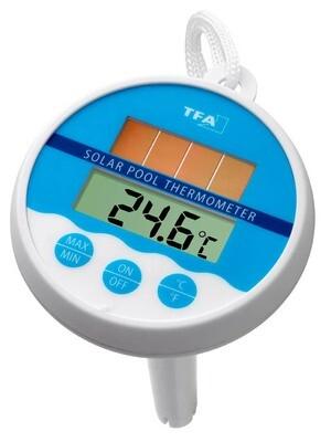Digitales Solar-Schwimmbadthermometer TFA 30.1041