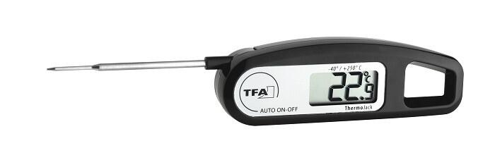 Einstich-Thermometer Klappthermometer Thermo-Jack TFA 30.1047.01