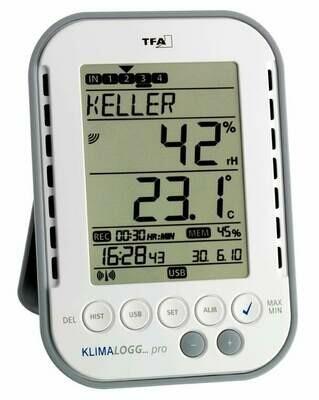 Profi-Hygrometer Klimalogg Pro TFA 30.3039 IT