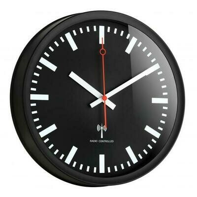 Funkwanduhr mit geräuscharmem Uhrwerk
