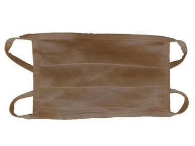 Baumwollmasken (3 Stk.) BRAUN