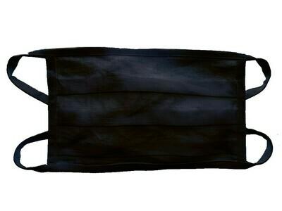 Leinenmaske im 3er-Pack / schwarz