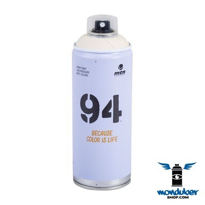 Spray MTN 94 - Blancos / Negro / Metales - 400ml