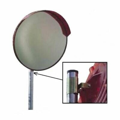 Specchio parabolico in PVC diametro 90 cm comprensivo di staffe per ancoraggio su palo