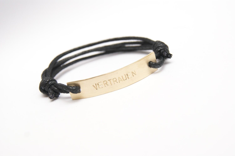Armband VERTRAUEN