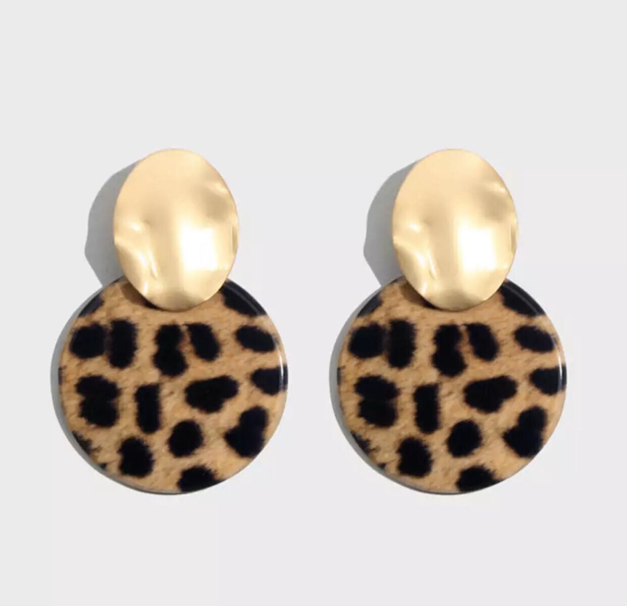 Wild 'n Cheetah  Earrings