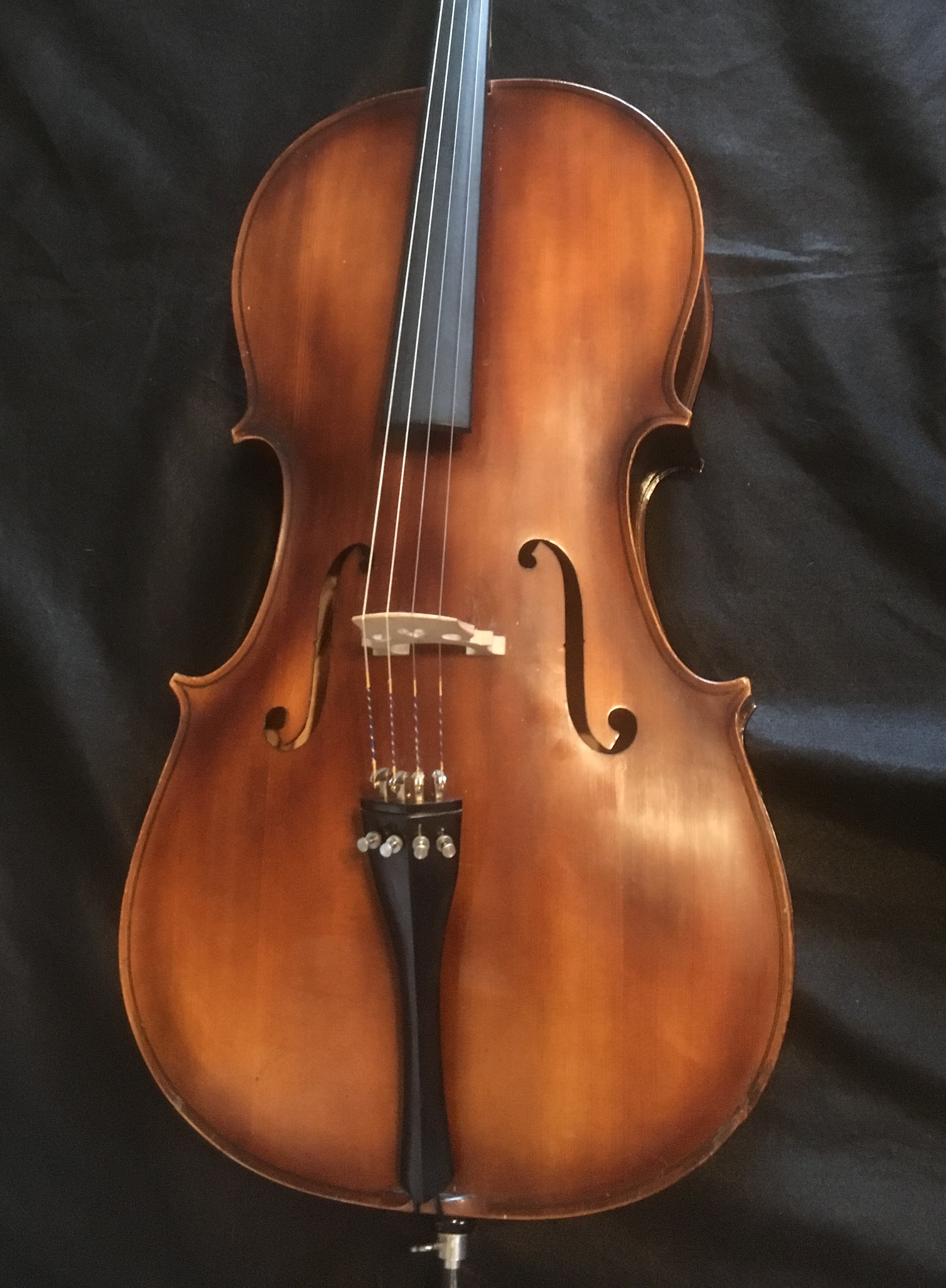 1965 Hungarian Cell w/ Original Case and Vintage bow