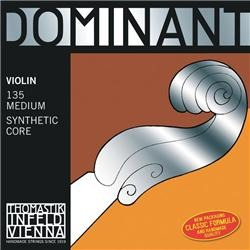 Thomastic Dominate String Violin- Perlon Core 135