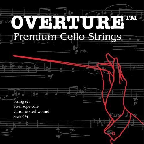 Overture Cello Strings 00000