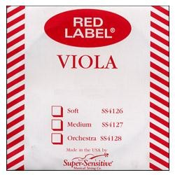 Red Label String Viola - Steel Core SS410