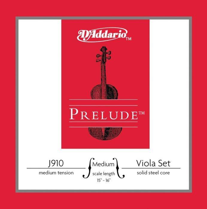 D'Addairio Prelude String Viola- Steel Core J910