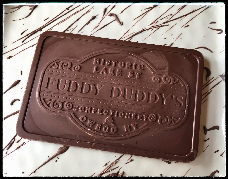 Fuddy Duddy's Dark Chocolate Bar