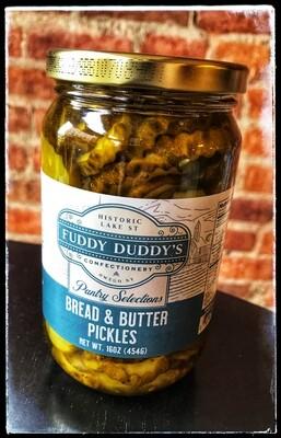 Fuddy Duddy's Bread & Butter Pickles