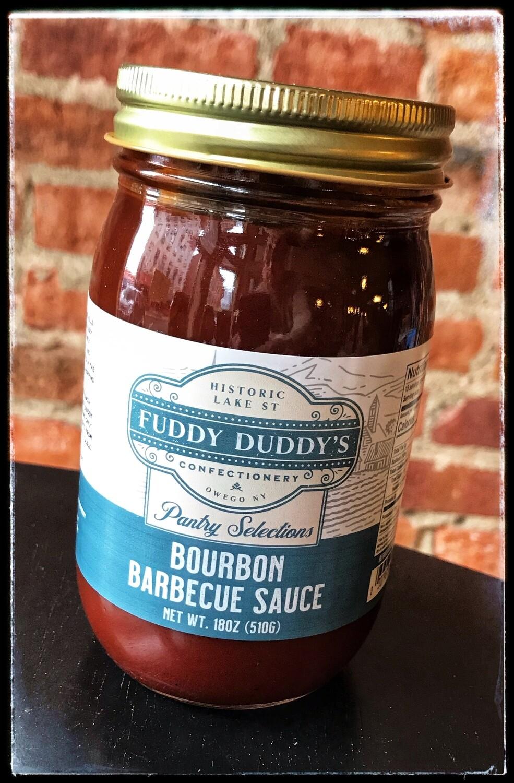 Fuddy Duddy's Bourbon BBQ Sauce - 18 oz