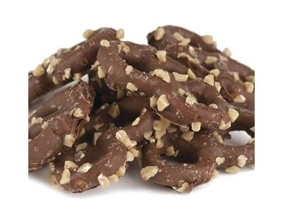 Chocolate Toffee Mini Pretzels