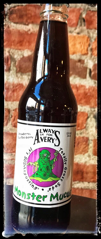 """Avery's """"Totally Gross Soda"""" Monster Mucus (Strawberry/Blue Raspberry)"""