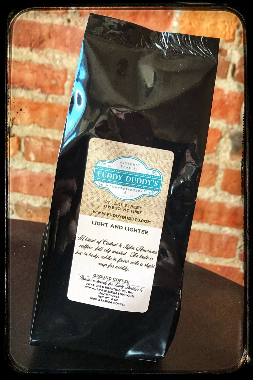 Fuddy Duddy's Light & Lighter Blend Ground Coffee