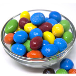 M&M Peanut Chocolate Candies