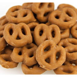 Salted Caramel Mini Pretzels
