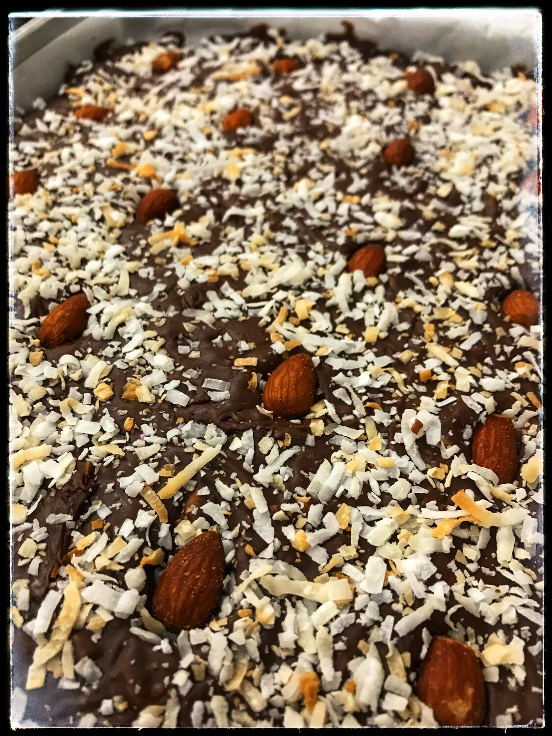 FUDGE OF THE MONTH - ALMOND JOY