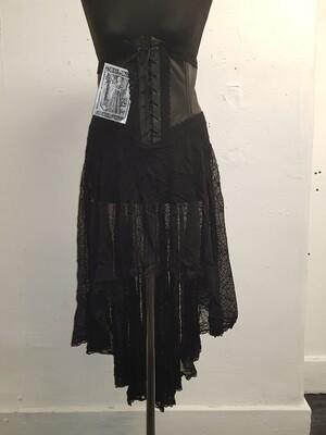 Cobweb waspie skirt