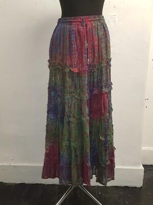 Jordash mixed ragged tie-dye