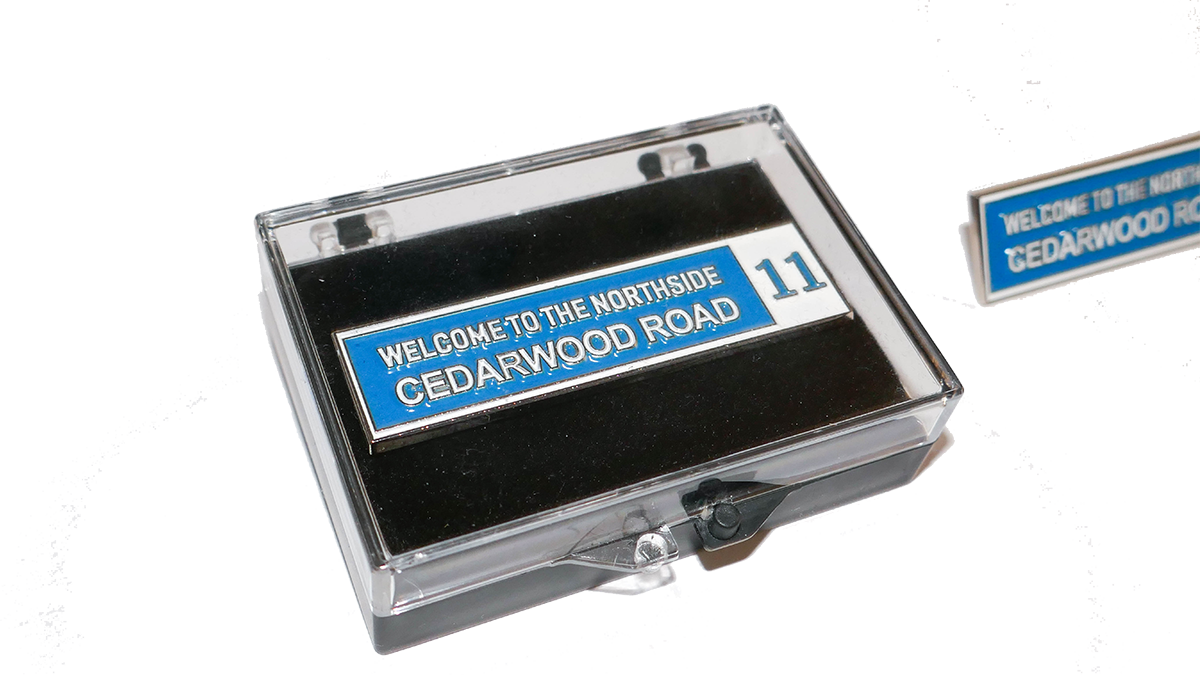 CEDARWOOD ROAD - Badge Pin