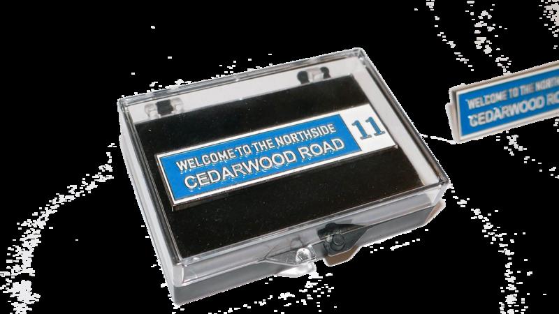 CEDARWOOD ROAD - Badge Pin