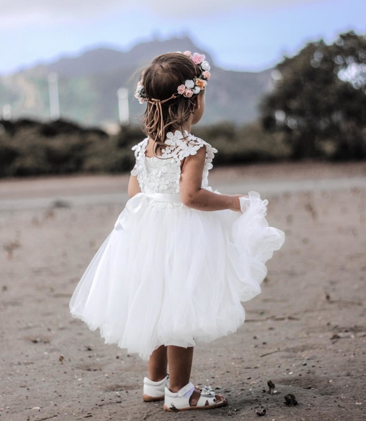 Layla Tutu Dress | White