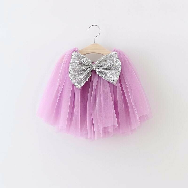 Tutu Bow Skirt | Purple