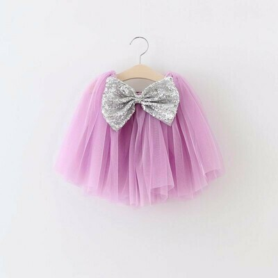 Tutu Bow Skirt | Purple