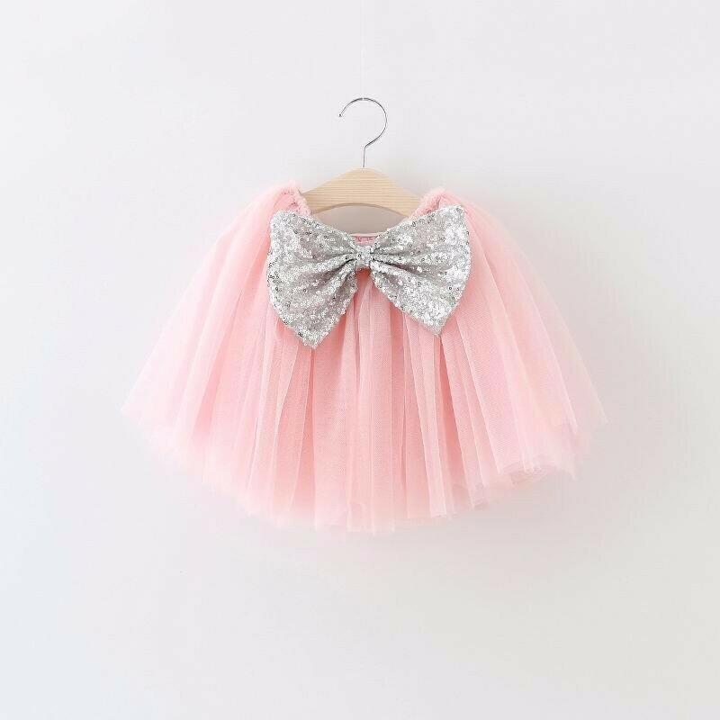 Tutu Bow Skirt | Pink